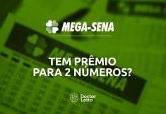 2 números na Mega-Sena