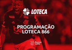 programação loteca 866 palpites