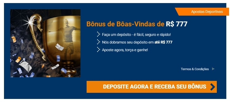bônus do site