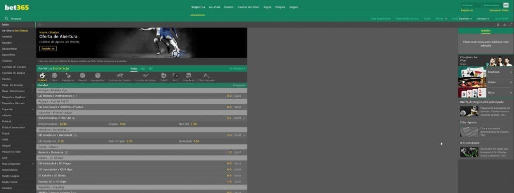 site bet365 apostas esportivas