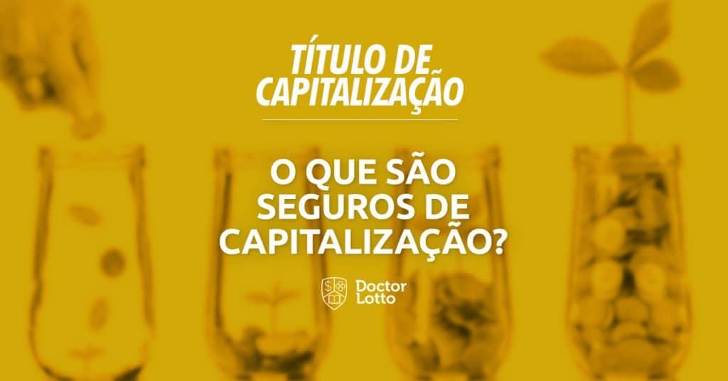 seguros de capitalização