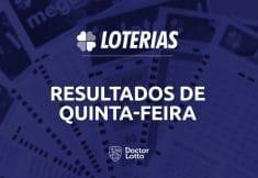 sorteio da Lotofácil 2057 e Quina 5391