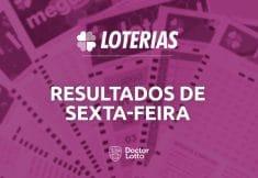 Resultado da Lotofácil 1917, Quina 5173 e Lotomania 2040