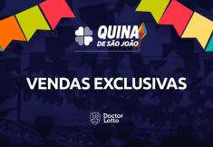 vendas exclusivas Quina de São João 2020