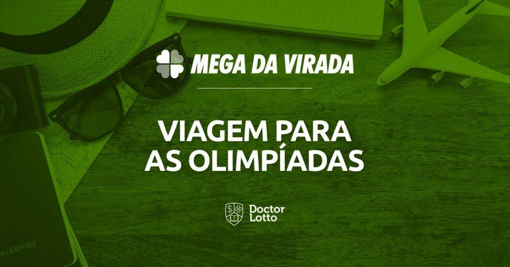 viajar para as olímpiadas com o prêmio da Mega da Virada