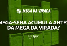 Mega-Sena acumula antes da Mega da Virada