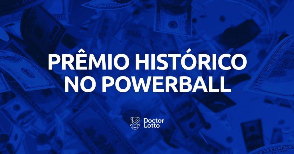powerball prêmio histórico