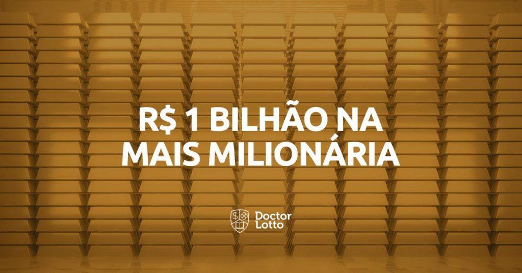 R$ 1 bilhão Mais Milionária
