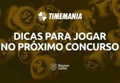sorteio da Timemania 1661