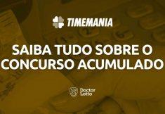 Sorteio da Timemania 1607