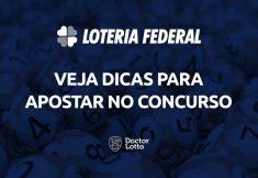 sorteio da Loteria Federal 5555