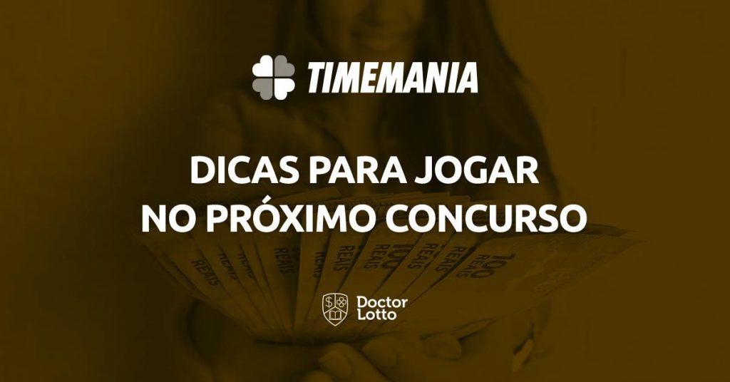 sorteio da Timemania 1634