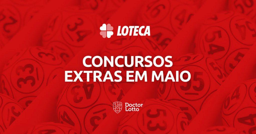 concursos extras da Loteca