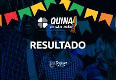 Resultado da Quina de São João 2021