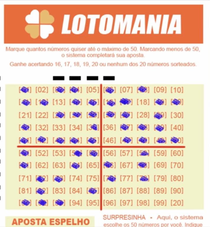 tática lotomania