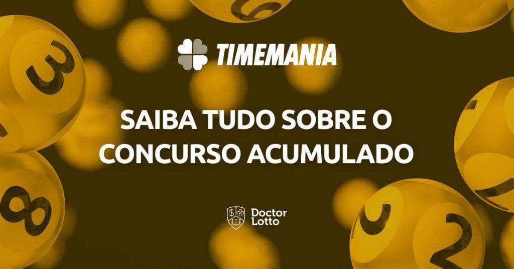 sorteio da Timemania 1664