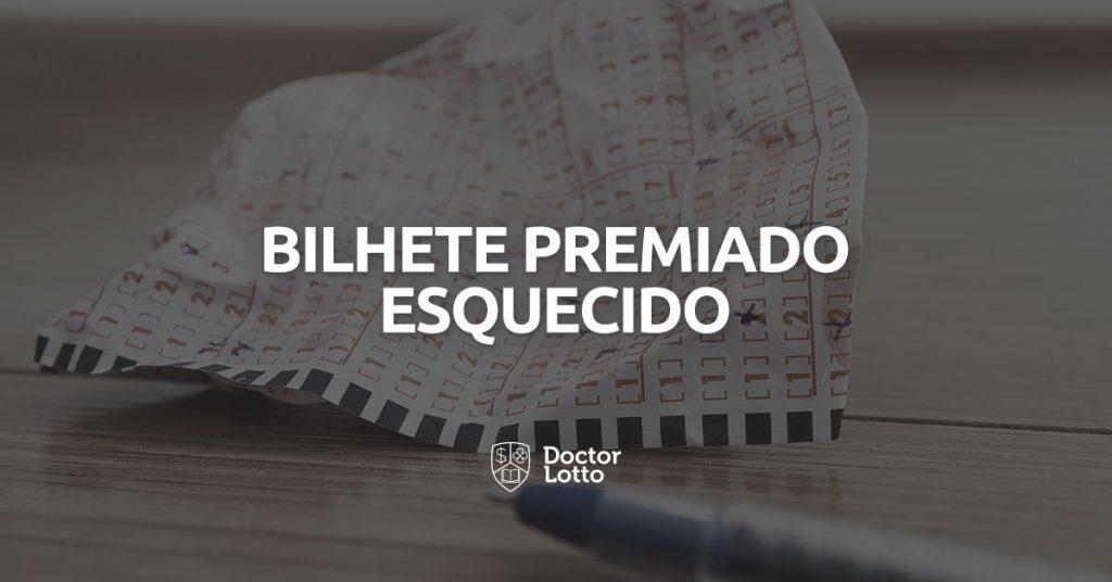 lotérico encontrou bilhete premiado