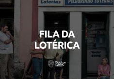 fila da lotérica