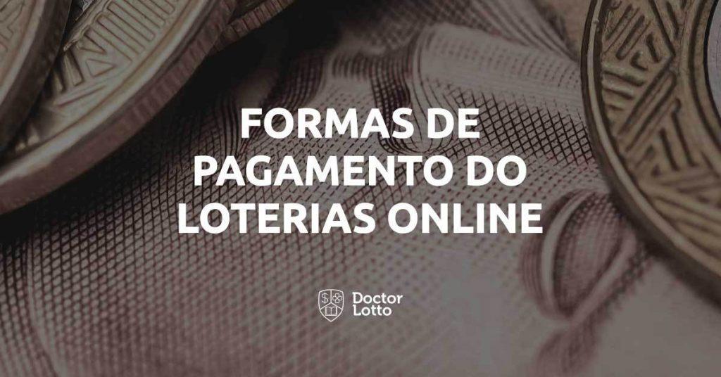 formas de pagamento loterias online