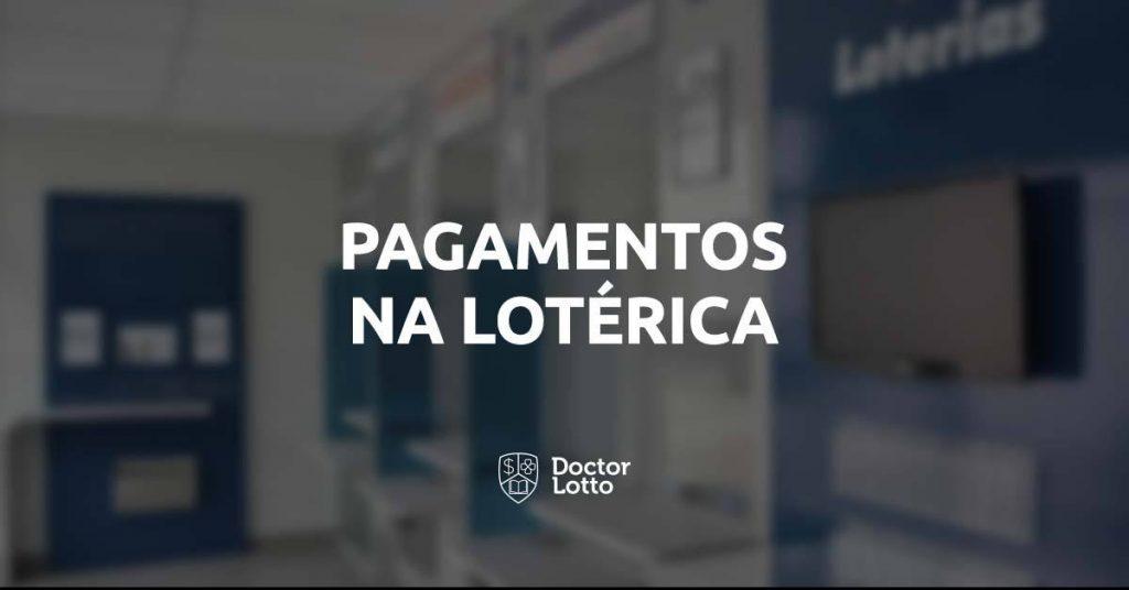 pagamentos na lotérica