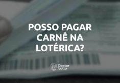 pagar carnê na lotérica