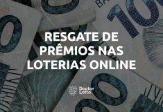 resgate prêmios loterias online