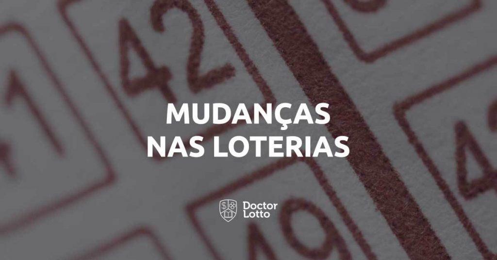 novidades nas loterias