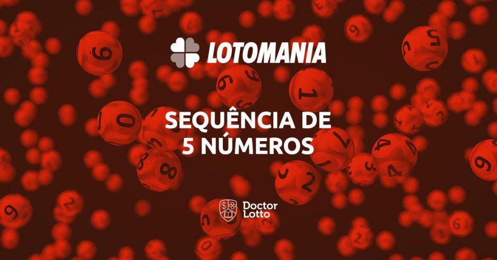 Saíram 2 sequências de 5 números na Lotomania